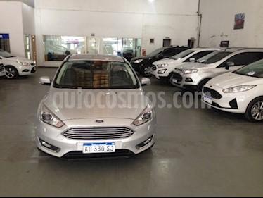 Ford Focus 5P 2.0L Titanium Aut usado (2018) color Plata Metalizado precio $1.150.000