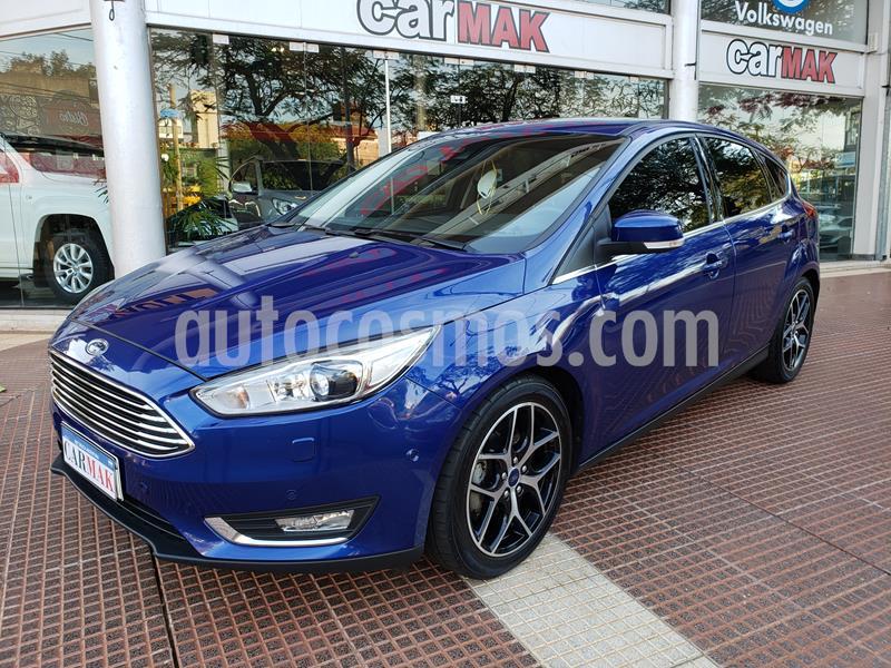 Ford Focus 5P 2.0L Titanium Aut usado (2018) color Azul precio $1.450.000