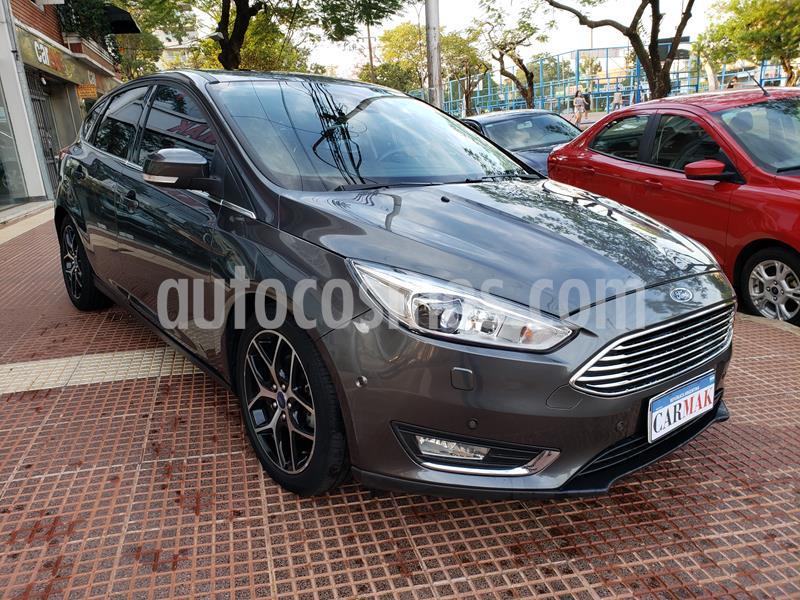 Ford Focus 5P 2.0L Titanium Aut usado (2016) color Gris precio $1.299.000