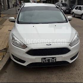 Ford Focus 5P 1.6L S usado (2015) color Blanco precio $610.000