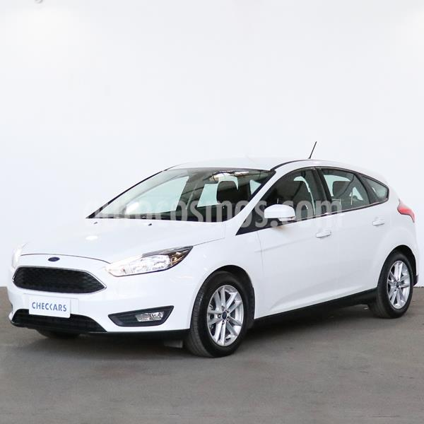 Ford Focus 5P 1.6L S usado (2018) color Blanco Oxford precio $1.214.000