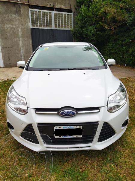 Ford Focus 5P 1.6L S usado (2015) color Blanco precio $1.190.000