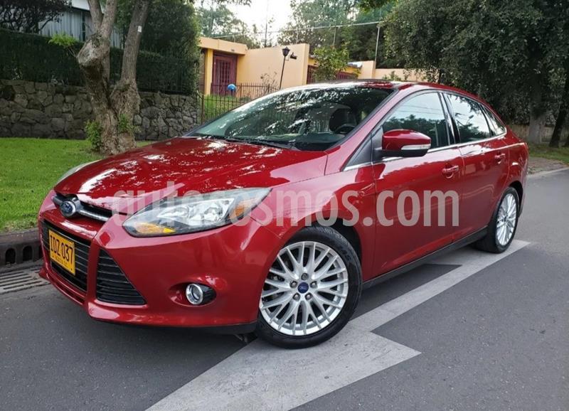 Ford Focus 2.0L Titanium Aut  usado (2014) color Rojo precio $38.400.000