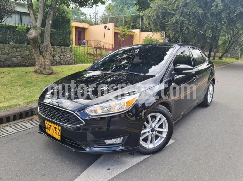 Ford Focus 2.0L SE Aut usado (2015) color Negro precio $39.900.000