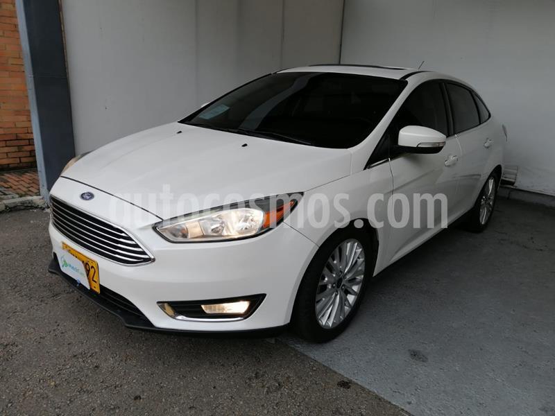 Ford Focus 2.0L Titanium Aut  usado (2015) color Blanco precio $40.990.000