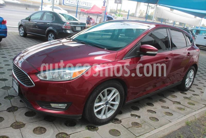 Ford Focus SE Aut usado (2017) color Rojo precio $215,000