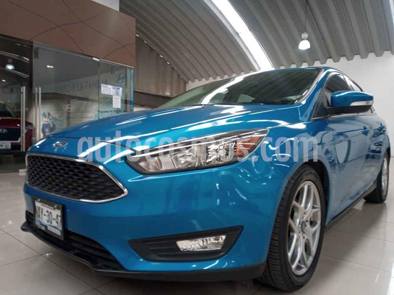 Ford Focus SE Luxury Aut usado (2016) color Azul precio $215,000
