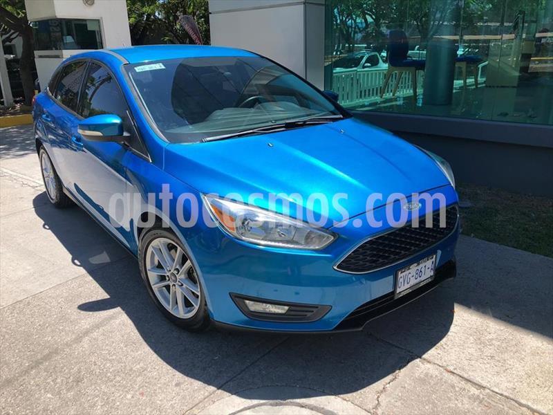 Ford Focus SE 4 PTAS AT usado (2015) color Azul Electrico precio $165,000