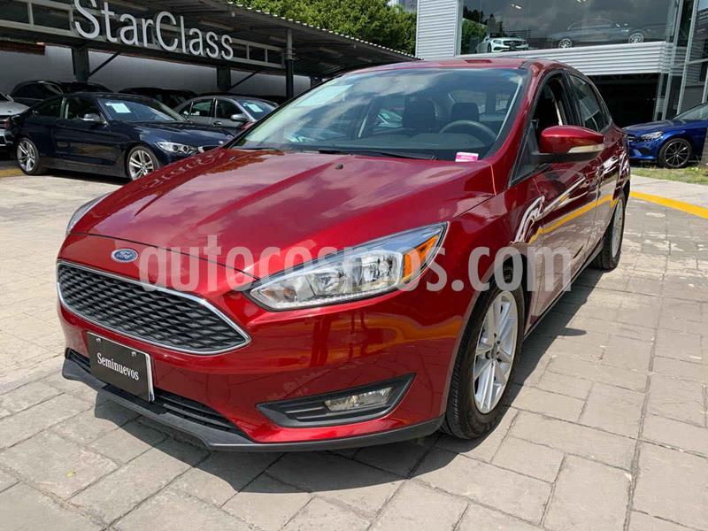 Ford Focus SE Aut usado (2017) color Vino Tinto precio $255,000