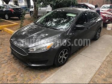 Ford Focus S TM 4 PTAS usado (2016) color Gris precio $180,000