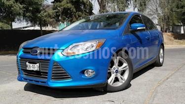 Ford Focus 4P TREND SPORT TA A/AC. QC PANTALLA RA-17 usado (2014) color Azul precio $140,000