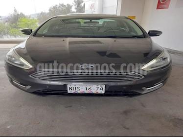 Ford Focus 4P TITANIUM TA A/AC. AUT. PIEL QC GPS RA-17 usado (2015) precio $210,000