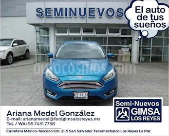 Ford Focus TITANUM 4 PTAS usado (2016) color Azul Claro precio $240,000