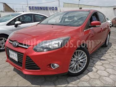 Ford Focus SE usado (2014) color Rojo Granate precio $165,000