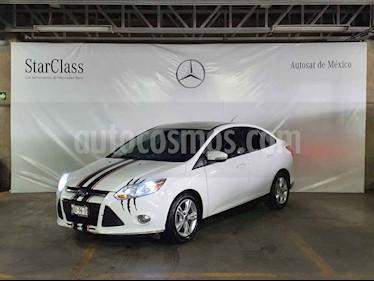 Ford Focus 4p SE aut usado (2013) color Blanco precio $129,000