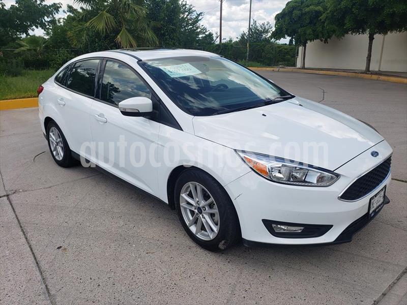 Ford Focus SE TM 4 PTAS usado (2017) color Blanco precio $197,000
