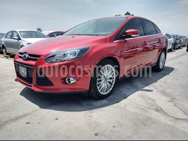 Ford Focus Trend Sport Aut usado (2015) color Rojo Granate precio $159,000