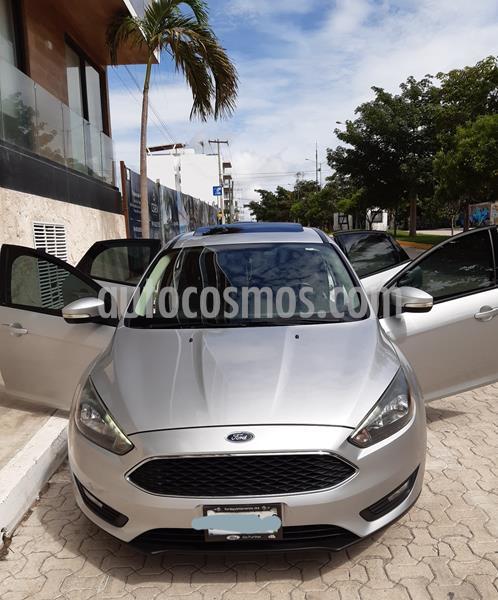 Ford Focus LX Aut  usado (2016) color Plata precio $170,000