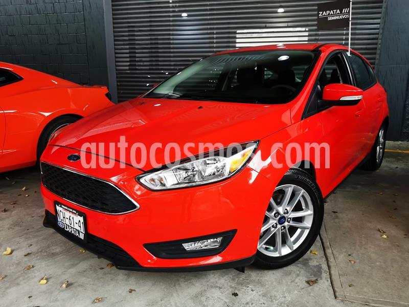 Ford Focus SE usado (2017) color Rojo Racing precio $220,000