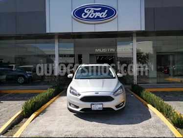 Ford Focus SE LUXURY TM 4 PTAS usado (2016) color Plata precio $195,000