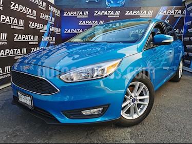Ford Focus SE Aut usado (2015) color Azul Brillante precio $195,000