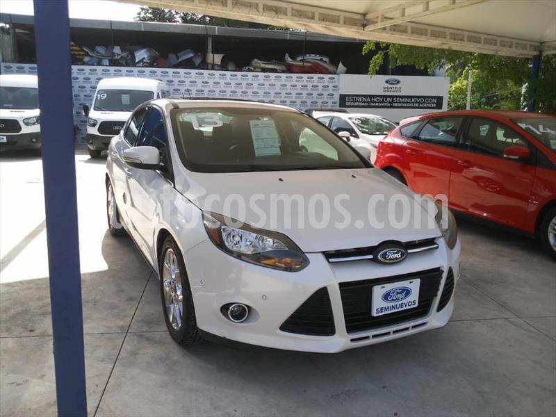 Ford Focus 4P TITANIUM PLUS AUT usado (2013) color Blanco precio $140,000