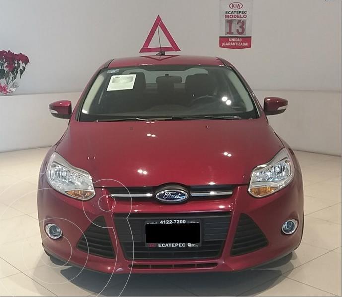 Foto Ford Focus SE Plus Aut usado (2013) color Rojo precio $119,000