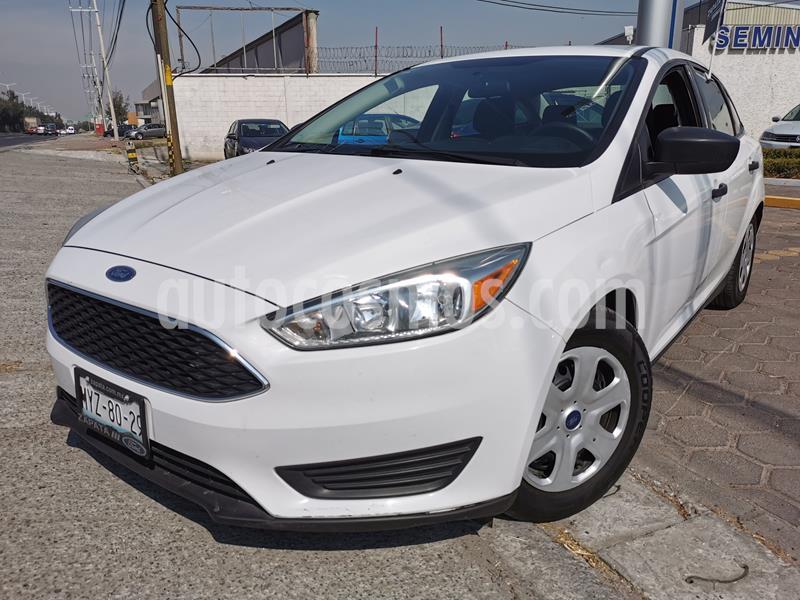 Ford Focus S Aut usado (2016) color Blanco Oxford precio $170,000