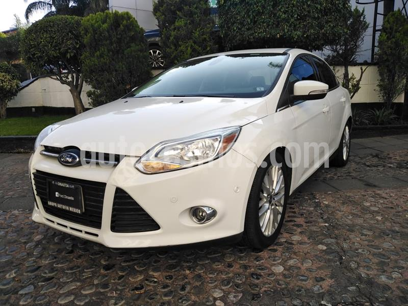 Ford Focus SEL Aut Plus usado (2012) color Blanco precio $140,000