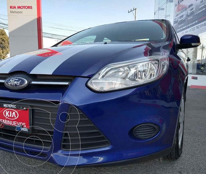 foto Ford Focus Ambiente Aut usado (2014) color Azul precio $129,900