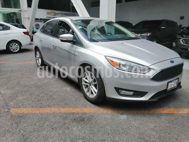 Ford Focus SE Aut usado (2015) color Plata precio $155,000