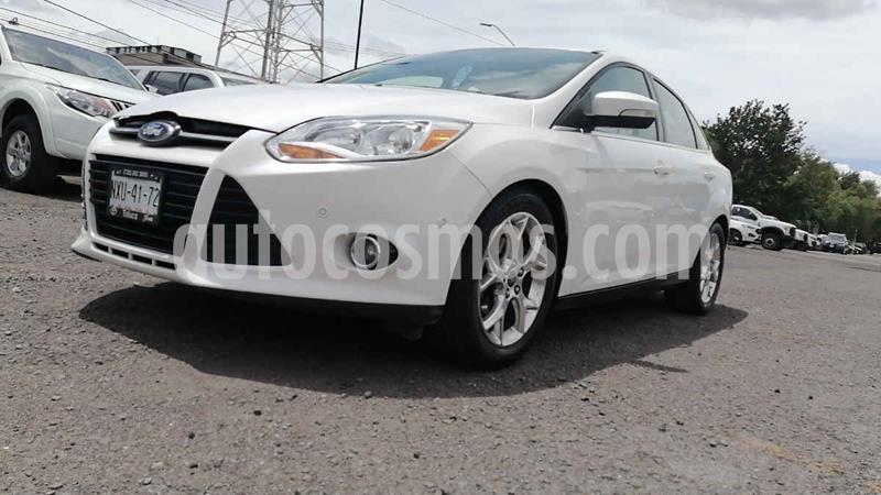Ford Focus Titanium Plus Aut usado (2013) color Blanco precio $139,000