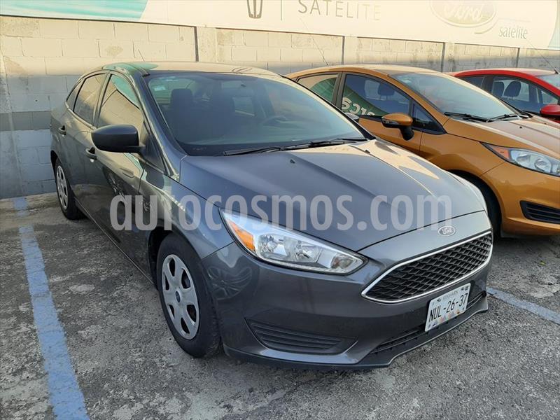 Ford Focus S 4 PTAS TM usado (2015) color Gris Oscuro precio $145,000