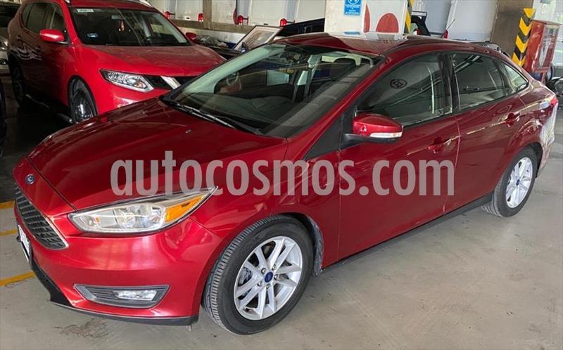 Ford Focus SE Aut usado (2017) color Rojo precio $258,000