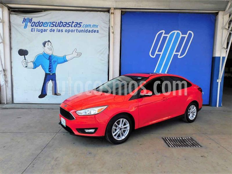 Ford Focus SE Luxury Aut usado (2017) color Rojo precio $144,000