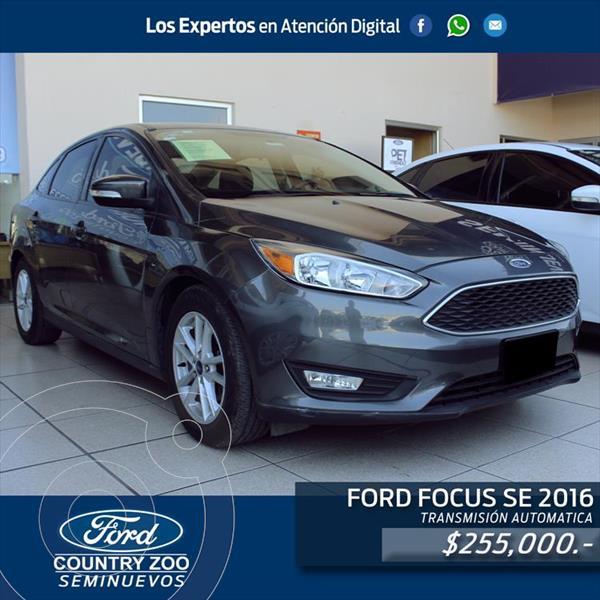 Ford Focus SE usado (2016) color Gris precio $255,000