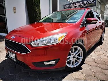 Ford Focus SE usado (2016) color Rojo precio $230,000