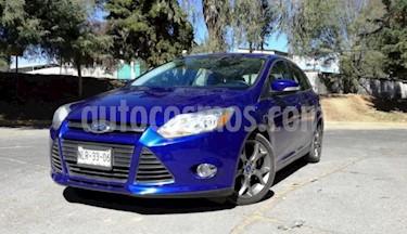 Ford Focus 4P SE PLUS TA A/AC. AUT. PIEL QC PANTALLA RA-17 usado (2013) color Azul precio $144,000