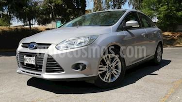 Ford Focus 4P TREND TA A/AC. F. NIEBLA RA-16 usado (2014) color Plata precio $135,000