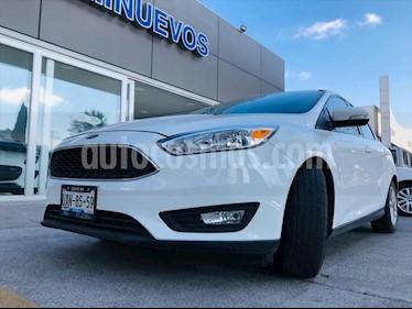 Ford Focus SE TM 4 PTAS usado (2016) color Blanco precio $195,000