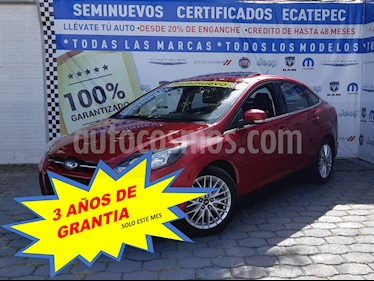 Ford Focus Sport Aut usado (2014) color Rojo Mexicano precio $189,000