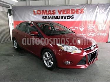 foto Ford Focus 4p SE L4/2.0 Aut usado (2013) color Rojo precio $119,000
