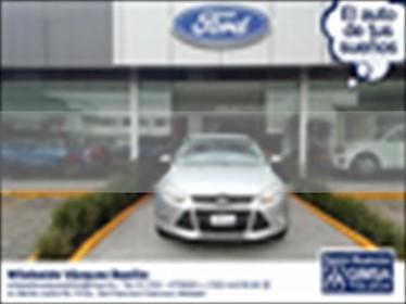 Ford Focus S 4 PTAS TM usado (2013) color Plata precio $123,000
