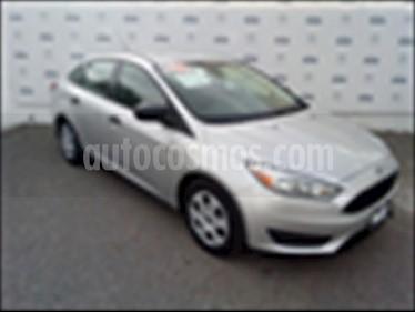Foto Ford Focus S TM 4 PTAS usado (2016) color Plata precio $195,000
