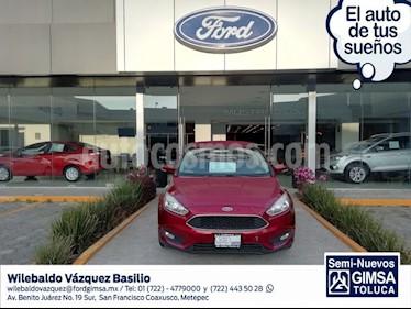 Foto venta Auto usado Ford Focus SE 4-ptas AT (2015) color Rojo precio $167,000