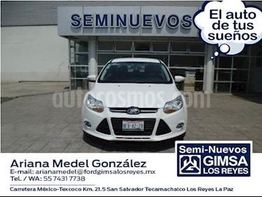 Foto venta Auto usado Ford Focus SE 4-ptas AT (2014) color Blanco precio $150,000