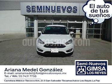 Foto venta Auto usado Ford Focus SE 4-ptas MT (2016) color Blanco precio $225,000
