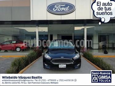 Foto venta Auto usado Ford Focus SE 5-ptas MT (2016) color Negro precio $204,000