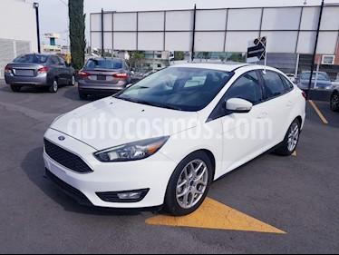 Foto venta Auto usado Ford Focus SE Appearance Aut (2015) color Blanco Oxford precio $190,000