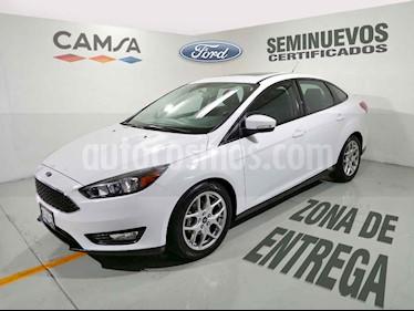 Foto venta Auto usado Ford Focus SE Appearance Aut (2015) color Blanco precio $189,900